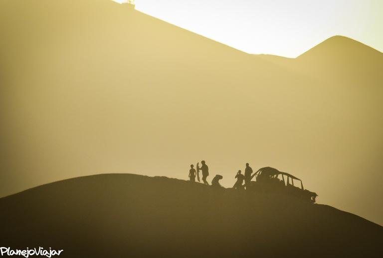Por do Sol na Huacachina