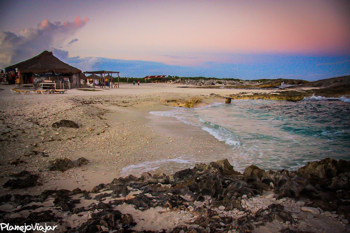 Playa El Mirador em Cozumel