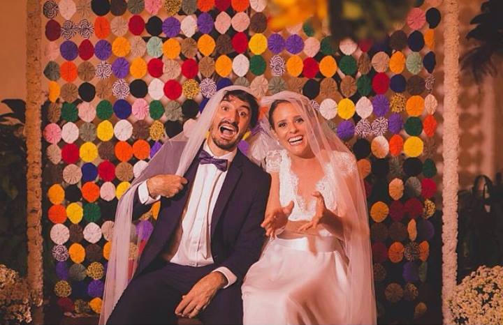 Anderson e Tereza se casaram no ano passado e farão sua primeira viagem internacional juntos. Buenos Aires, aí vão eles!