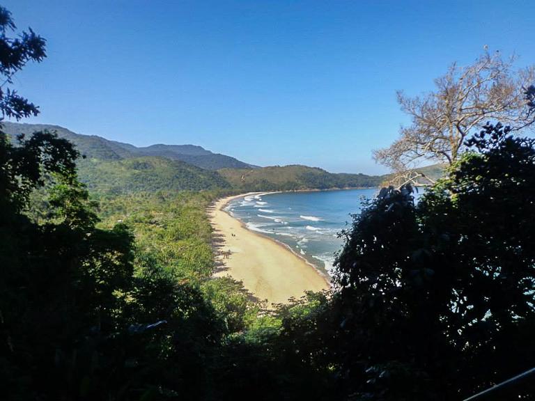Chegada à Praia do Sono