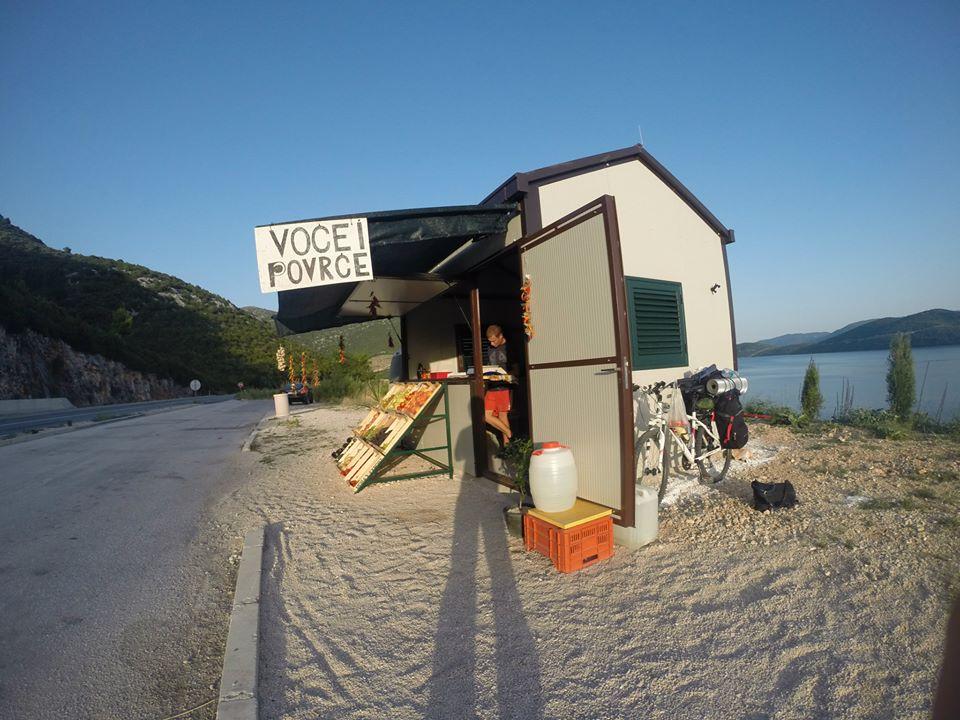 Barraca de Frutas na Croácia