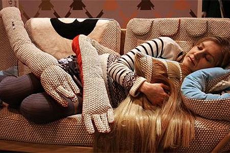 dormir no sofá