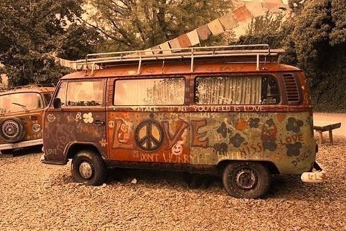 kombi hippie