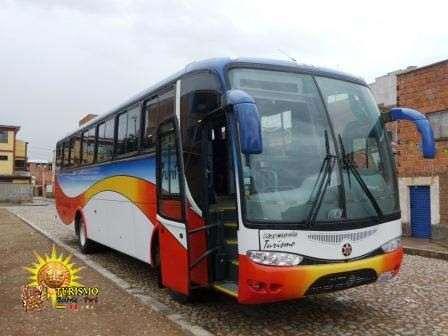 ônibus de La Paz a Uyuni