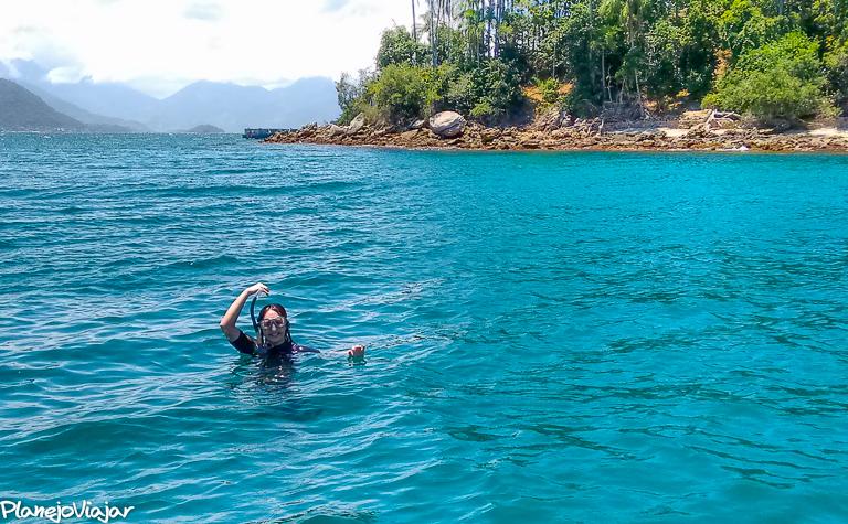 Primeiro Snorkel nas Ilhas de Angra