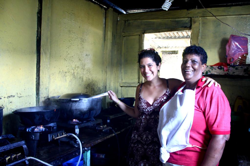 Cozinheira de Bastimentos que ensinou arroz de coco