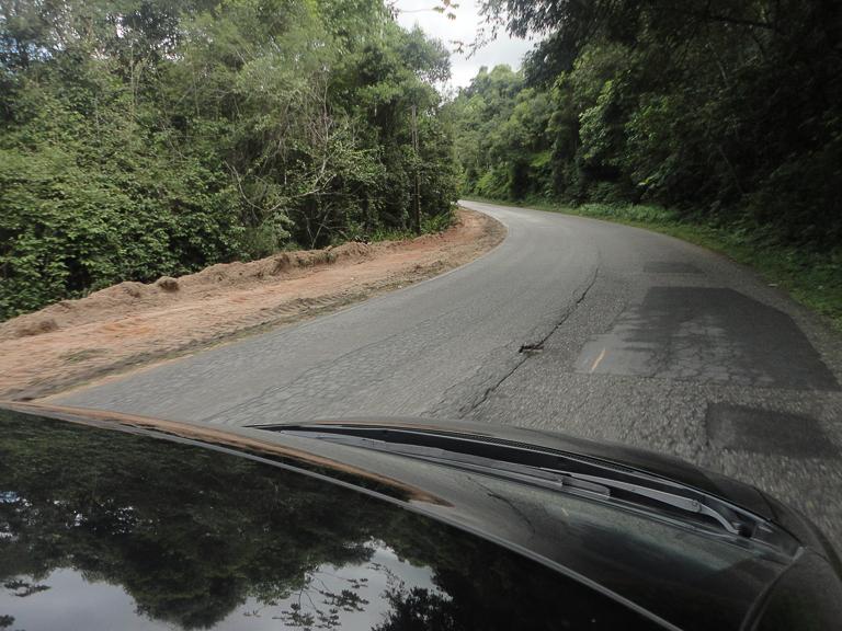 estrada para Brusque